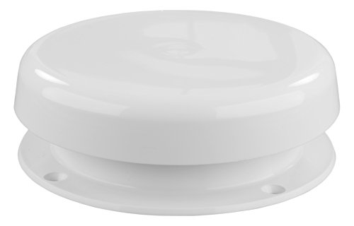 JR Products 02-29125 Mushroom Style Plumbing Vent (White),1 Pack