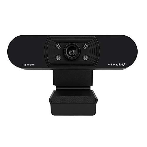 1080P Webcam Für Streaming, Kamera Web Aufrufen Videoaufzeichnung Cam Für Windows Mac Conferencing Gaming Mit Mikrofon Und 100-Grad-Betrachtungswinkel