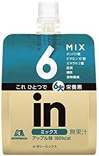 森永製菓 inゼリー ミックス 150g x6個セット