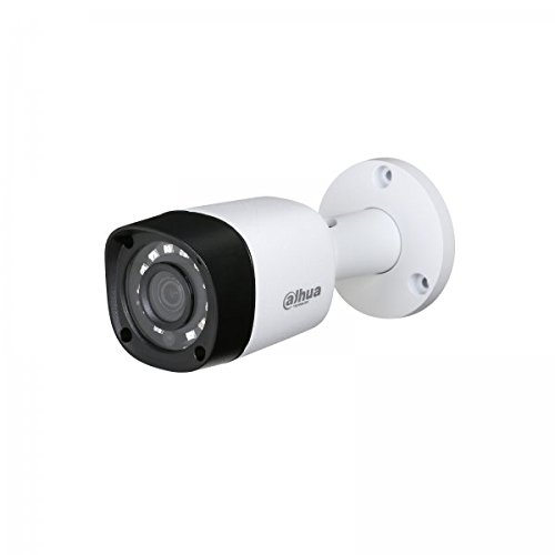 Dahua - Dahua HD 720P Cámara 4 en 1 HDCVI/HDTVI/AHD/Analogue 2.8mm - HAC-HFW1000RM-S4