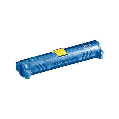 Fixpoint 77136 Koaxial Abisolierwerkzeug mit Öffnungsfeder und Sperrklinke
