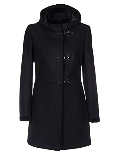 Fay Luxury Fashion Damen NAW50394160RCPB999 Schwarz Kaschmir Mantel   Herbst Winter 19