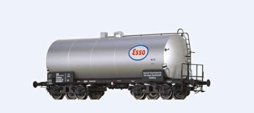 """Brawa 48944 Kesselwagen ZZ [P] """"Esso"""" der DR Brit-US-Zone"""