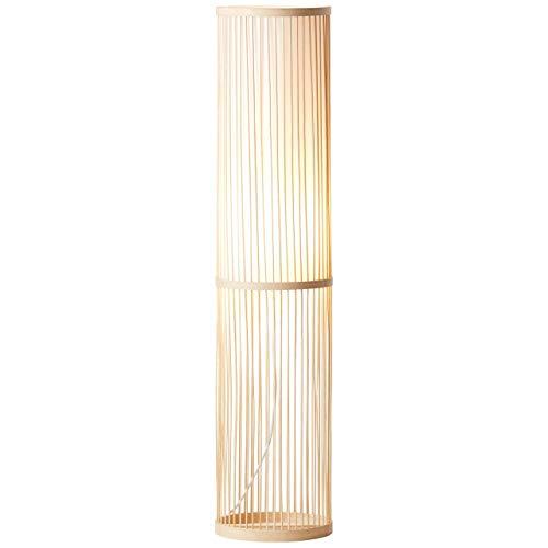 Brilliant 92771/09 - Lámpara de pie (1 bombilla), color blanco y natural