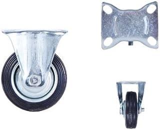 Transportwielen, zwenkwielen, bokwielen, zwenkwielen, rem 75-100-125-160-200 Bockrolle Tr-01a 75 Mm