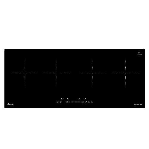 KKT KOLBE Induktionskochfeld 90cm / Autark / 7,4kW / 9 Stufen / 4 Zonen/Rahmenlos/Warmhaltefunktion/TouchSelect Sensortasten/Booster/LED-Anzeige / IND9020RL