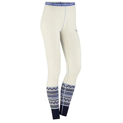 Kari Traa Women's Lokke Base Layer Bottoms - 100% Merino Wool Thermal Pants Calm Large