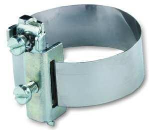 Erdungsbandschelle 8-114 Mm Protec (3 Stück Erdungsbandschelle)
