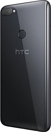 HTC Desire 12+ Smartphone Portable débloqué 4G (Ecran: 6 Pouces - 32 Go - Nano-SIM - Android) Noir