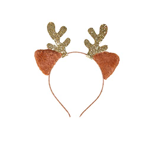 Yue668 - Decoracin navidea para el pelo, fiesta de Navidad, diseo de Pap Noel, mueco de nieve, para adultos y nios, regalo de Navidad