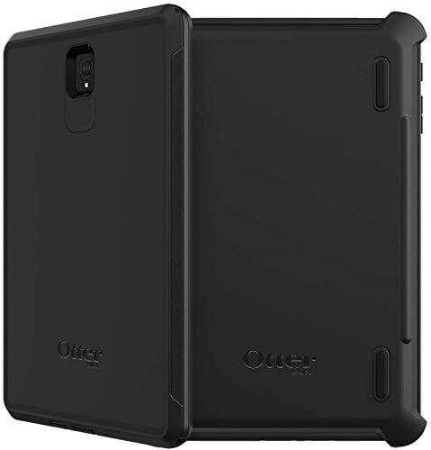 OtterBox Defender Series Case & Holster Compatible with Galaxy Tab S4 - Black