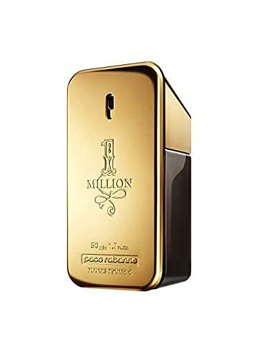 Paco Rabanne 1 Million Eau de Toilette, Uomo, 50 ml