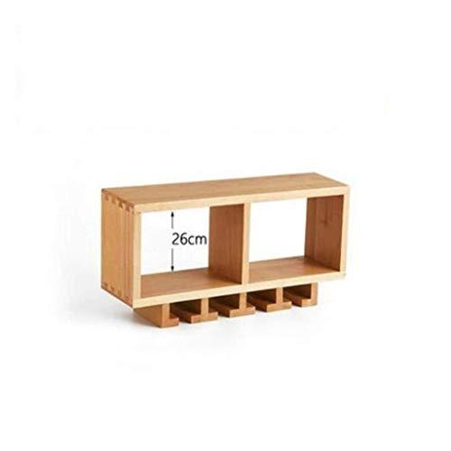 Estantería de vino Pared 1 estilo nórdico vino montado en la pared más fría de muebles de madera maciza estante moderno restaurante minimalista vino tinto soporte de vaso de vino estante de exhibición