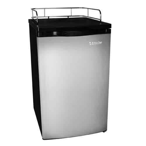 EdgeStar BR2001SS Ultra Low Temp Stainless Steel Refrigerator for Kegerator Conversion