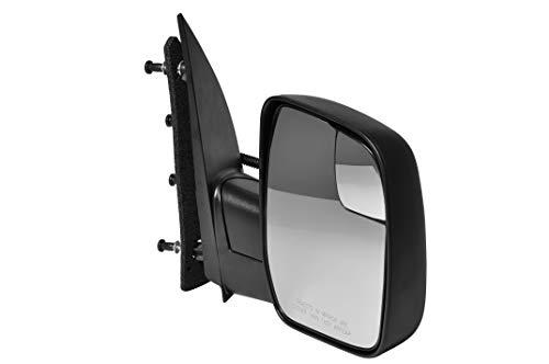 Passenger Side Textured Side View Mirror for 2010-2014 Ford E-150 E-250 E-350...