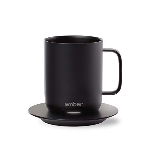 Ember Temperature Control Smart Mug, 10 oz, 1-hr Battery Life, Black - App Controlled Heated...
