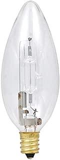 SYLVANIA General Lighting 11992 Sylvania Halogen Décor B11 Light Bulb, 12 Pack, 2800K-Soft White, 12
