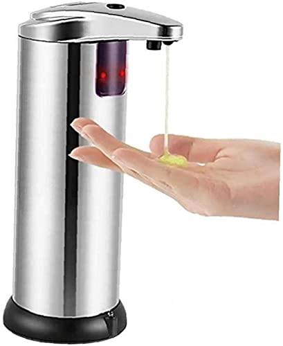 Amrta Dispensador de Jabón Automático, Dispensador de Jabón Sensor de Movimiento Inteligente para Baño, Cocina