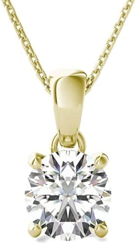 Purple Star 1.00 Ct Solitaire Opening large release sale Selling and selling Pendant Brilliant Round Cut Neckla