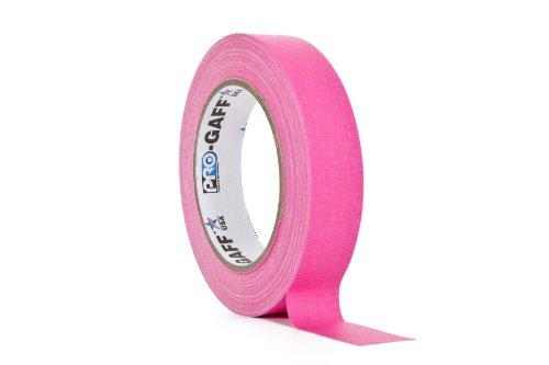 ProTapes/Permacel Klebeband, fluoreszierend, 24mm x 22,8m Rosa