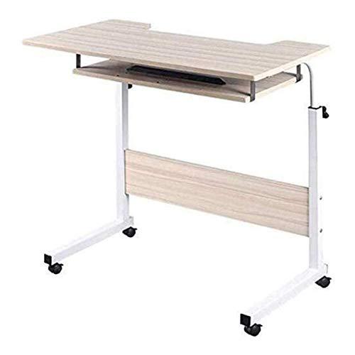 FGDSA Escritorios Y Estaciones De Trabajo De Oficina Escritorio De Pie Mesa De Cama Laptop Se Puede Levantar 70-90Cm
