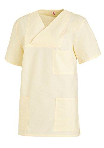 Leiber Maglietta unisex 1/2 Manica bianca - giallo, 0