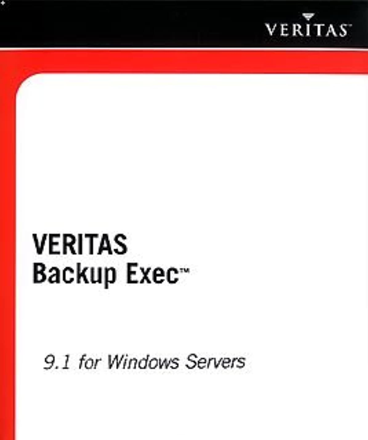 棚有望相互接続VERITAS Backup Exec 9.1 for Windows Servers