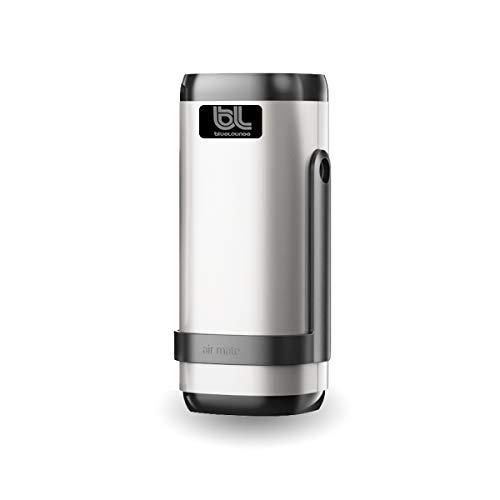 JAYWAYNE Car Air Purifier,Car Air Freshener,Portable Air Freshener Ionizer Ionic Air Purifier Remove Smoke, Dust in Car, Bedroom, Bathroom Other Small Room(Silver)