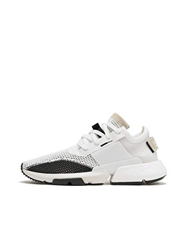 Adidas POD-S3.1, Zapatos de Escalada para Hombre, Blanco (Ftwbla/Ftwbla/Negbás 000), 44 EU
