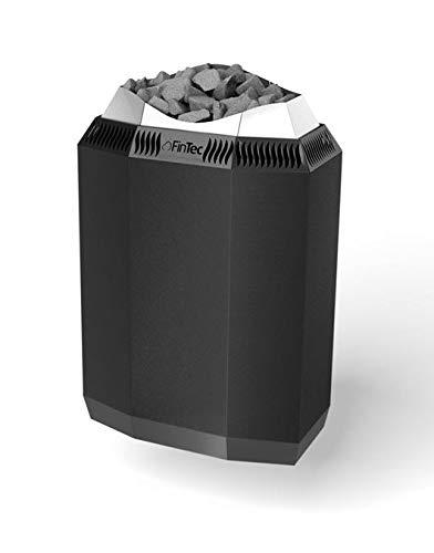FinTec KAJA - Horno para sauna (9,0 kW, revestimiento de polvo)