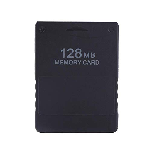 Tihebeyan Tarjeta de Memoria, Almacenamiento de la Tarjeta de Memoria de Alta Velocidad 8-256M para Juegos de Sony Playstation PS2 McBoot(128M)