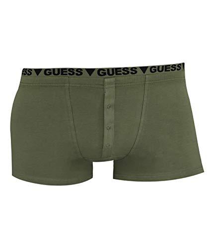 Guess Herren Boxershorts Boxer Shorts Pants Army Tribute UF8U18-JEL13, Farbe:Grün, Wäschegröße:M, Artikel:-D824 Dusty Olive