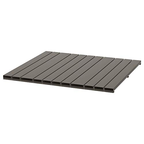 Mesa SJÄLLAND 68x68 cm gris oscuro