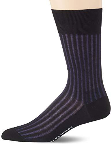 FALKE Herren Socken Shadow - 95{26104d567d5ff1d23e971f265ba6045ebefc64b3c2f8855e724dccdbe600cccf} Baumwolle, 1 Paar, Schwarz (Black 3003), Größe: 43-44