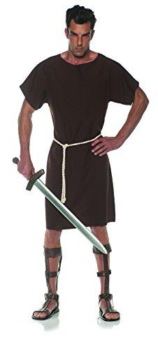 UNDERWRAPS Men's Classic Greek Toga Costume-Brown, Double X-Large