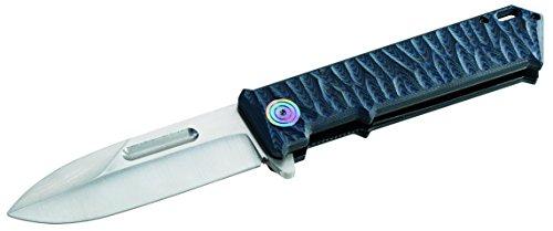 Herbertz Top-Collection Einhandmesser, AISI 440C-Stahl, Flip, Liner Lock, G-10 Griffschalen, Nylon-Etui, Box Couteau Mixte, Multicolore, Taille Unique
