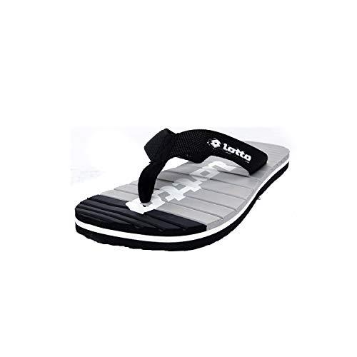 Lotto Men's Black/Grey Hawaii House Slippers-9 UK/India (43...