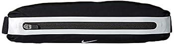 Nike Ceinture Rung Slim Wastepack Poche de la Hanche, Mixte Adulte, Noir/Argent, Taille unique