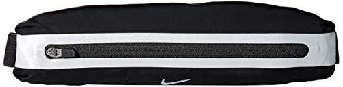 Nike Unisex Slim Waistpack, Black/Silver, Einheitsgröße EU