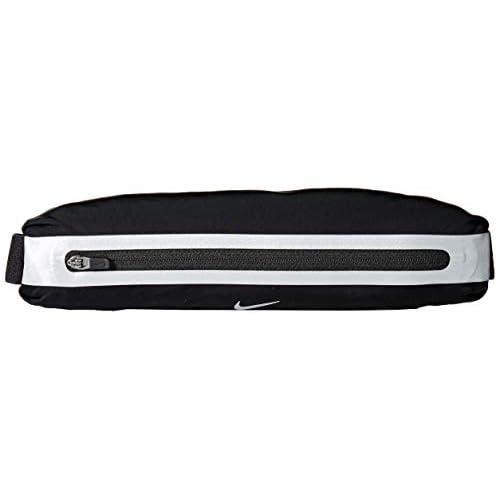 Nike Slim Waist Pack Marsupio, Unisex, Slim Waistpack, 082 Black/Black/Silv, Taglia Unica