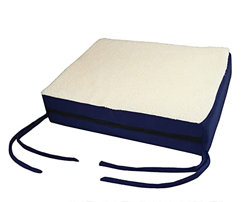Premium Comfy Orthopedic Gel Memory Foam Seat Cushion Pad for Office Chair, Car, Wheelchair & More - Seen On TV (1pc Set)