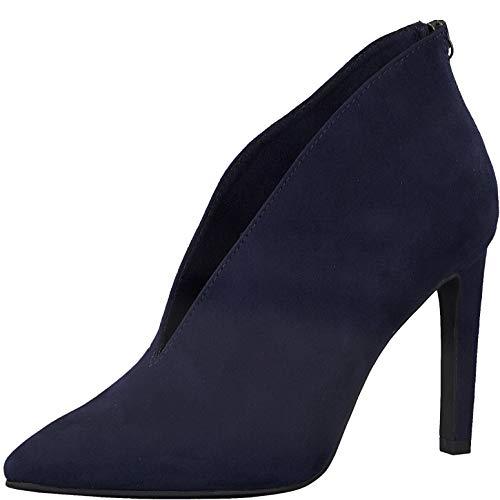 MARCO TOZZI Damen 2-2-25019-25 Stiefelette Mode-Stiefel, NAVY, 41 EU