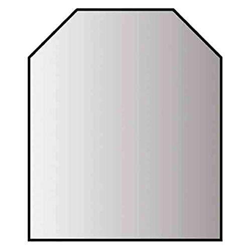Glasbodenplatte 6 mm Stärke, 100 x 120 cm, Seckseck 21.02.869.2 Glasplatte Funkenschutz Platte Kamin Ofen Kaminöfen Lienbacher Vorlegeplatte Bodenplatte ESG Sicherheitsglas