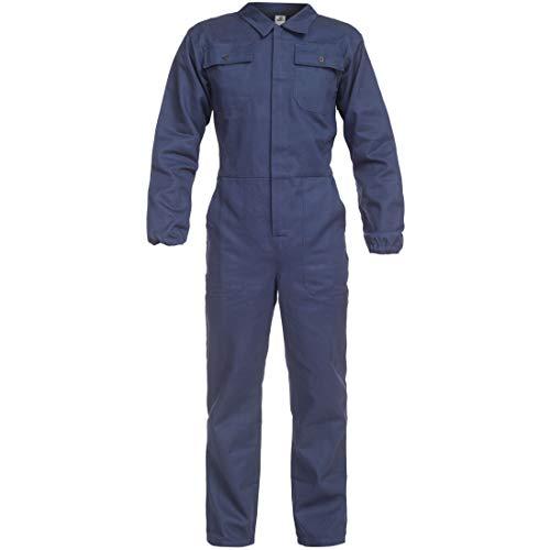 BWOLF ANAX Arbeitsoverall Herren Overall Herren Arbeitskleidung - Hydronblau mit Multifunktionalen Taschen (3XL)