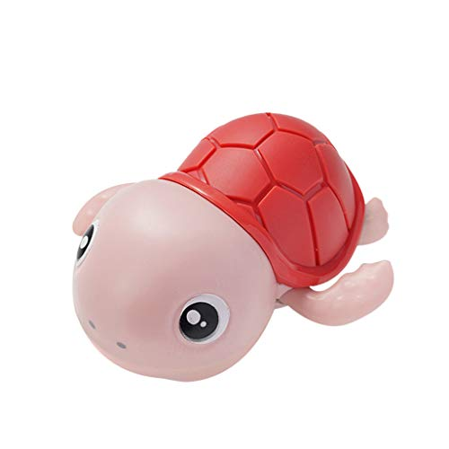 Klions Wind Up Turtle for Bath 4 Pack Baby Bath Toys Clockwork Water Toys Swimming Turtle Summer Pool Bathroom Float Toy Best Gift from Infant Toddler Child Kid