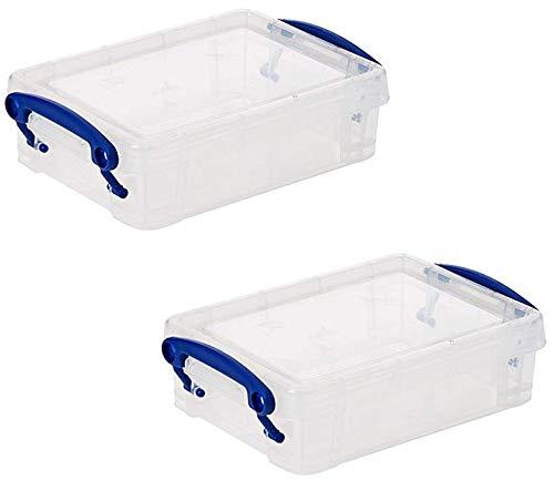 Really Useful Box 15,5 x 10 x 4 cm - 0,35l - 2er Set