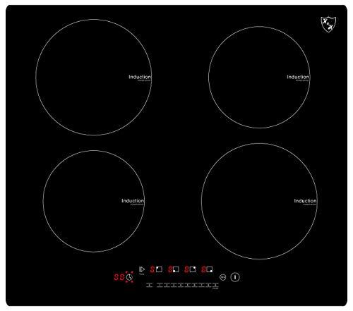 K&H® 4 Zonen Induktionskochfeld 59cm Autark rahmenlos IN-6804