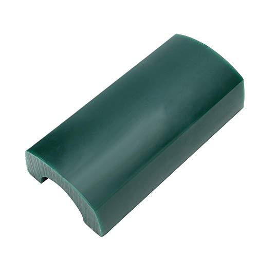 Jadpes sieraden gravure wax tube, semi-denier ovaal Solid Bangle Edition sieraden wax tube voor armband sieraden maken graveren gereedschap