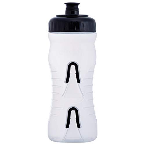 Stoff Farbroller Wasser Flasche, 600ml, Smoke/Schwarz