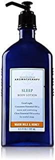 Bath and Body Works Aromatherapy Sleep Warm Milk and Honey Lotion 6.5 Ounce Original